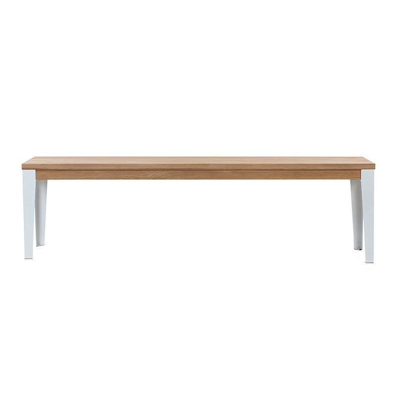 Industrial M Bench Seat - White