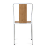 Industrial M Dining Chair - White