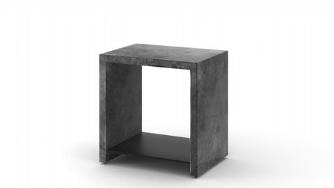 Concrete End Table