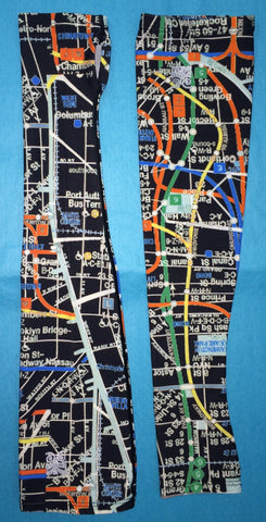 SleekSleeves Custom New York City Subway Arm Sleeves