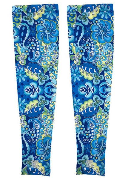Full Length Arm Sleeves - Cornflower