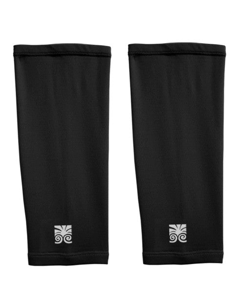 Athletic Shin Sleeves - Black