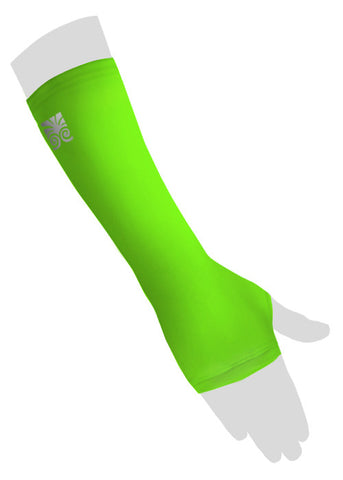 Decorative Wrist Cast Covers - Neon Green