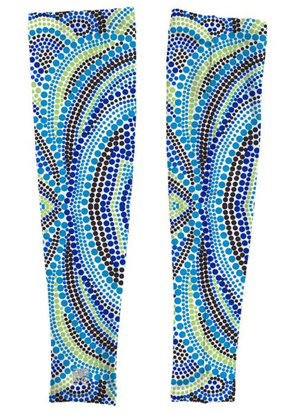 Running Arm Sleeves - Astral