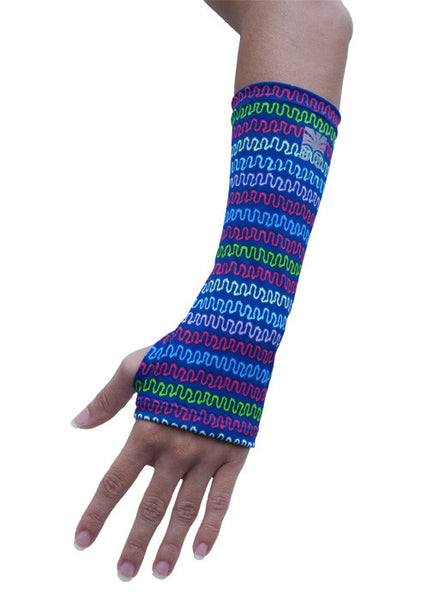 Wrist Brace Cover - Squiggles
