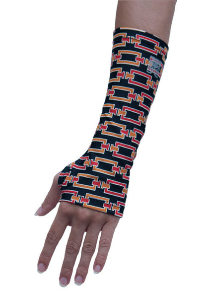 Wrist Sleeves with Thumb Hole - Links