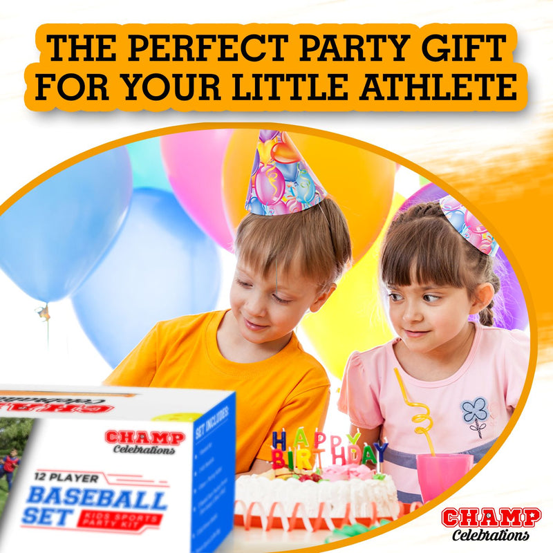 Champ Celebrations All-In-One Baseball Set - 12 Players