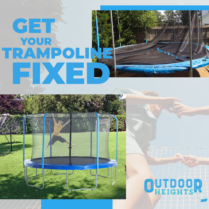 Universal - Replacement Trampoline Safety Net Enclosure Set