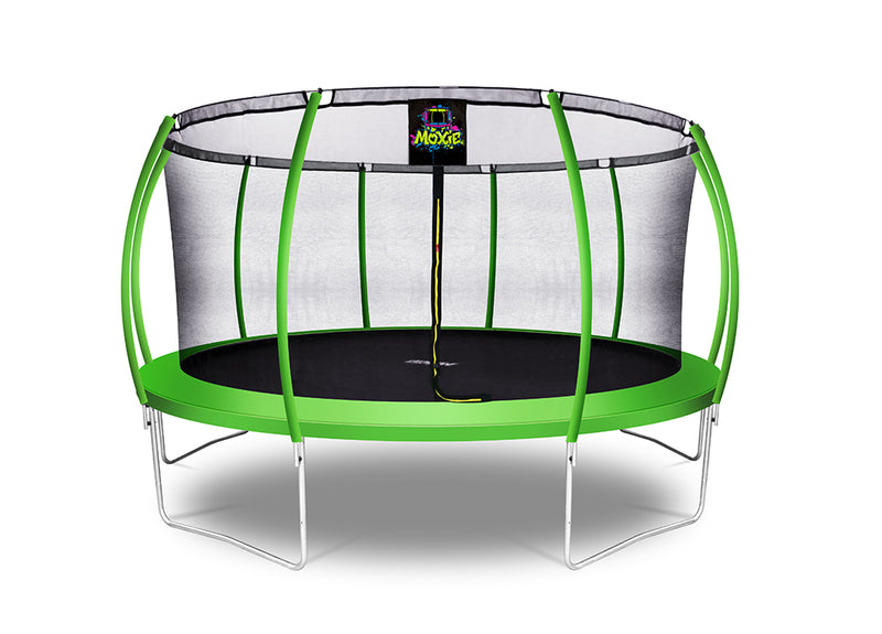 Outdoor Heights Bubble-Shaped Outdoor Trampoline Set with Secured top ring  Safety Enclosure