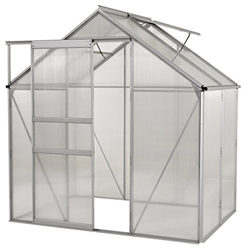 OGrow OGAL-466 Greenhouse, 4' X 6', Clear