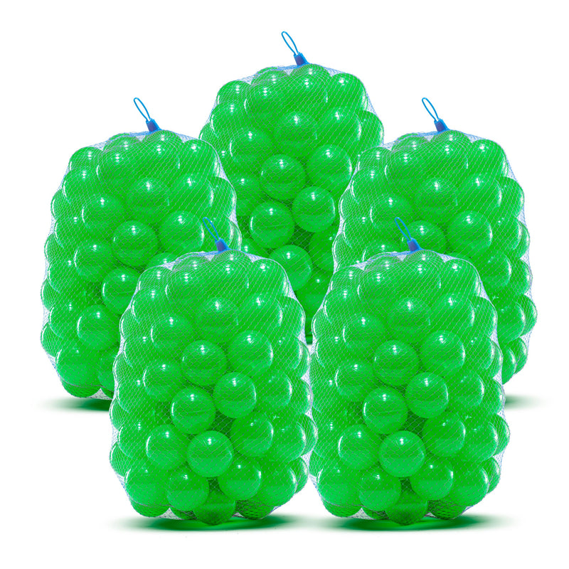 Crush Proof Plastic Pit Balls - Phthalate and BPA Free