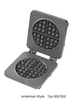 Silex GTT Power Save Double Waffle Baker
