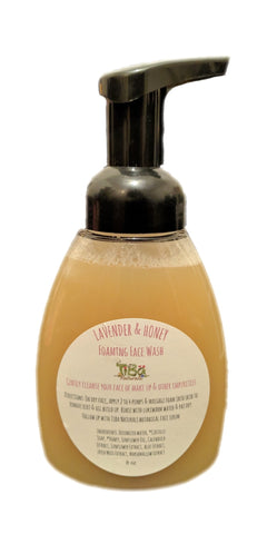 Lavender & Honey Foaming Face Wash