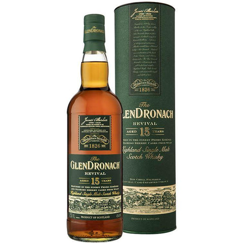 GlenDronach Revival 15 Year Old (700ml/ 46%)