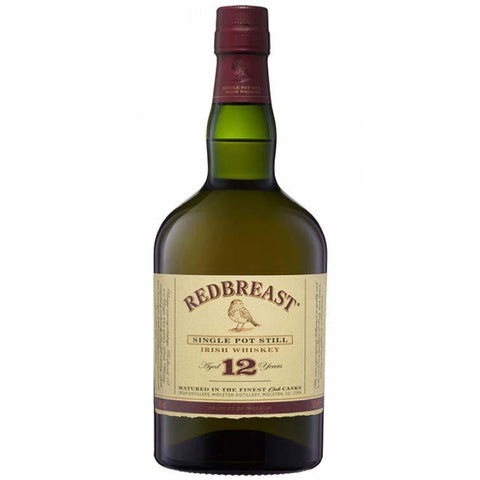Redbreast 12 Year Old Single Pot Still Irish Whiskey (700ml / 40%)