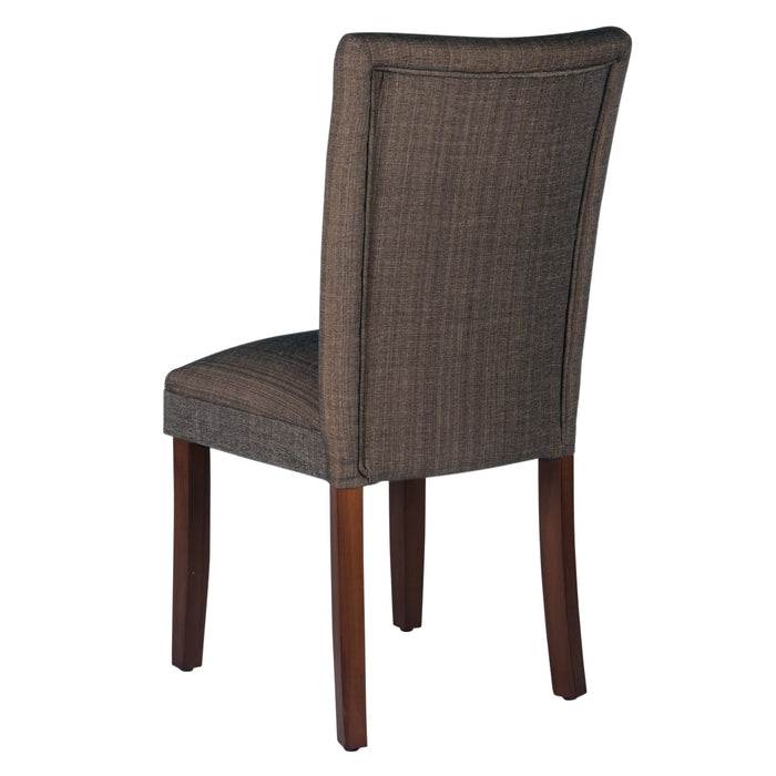 Parsons Dining Chair - Crosshatch Brown