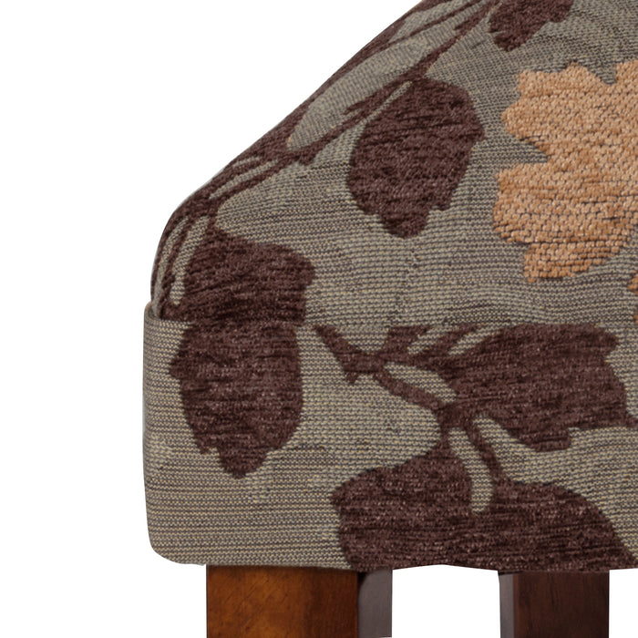 Parsons Dining Chair - Textured Sage Floral