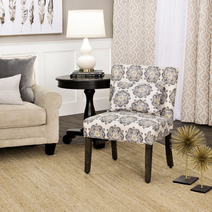 Parker Accent Chair and Pillow
