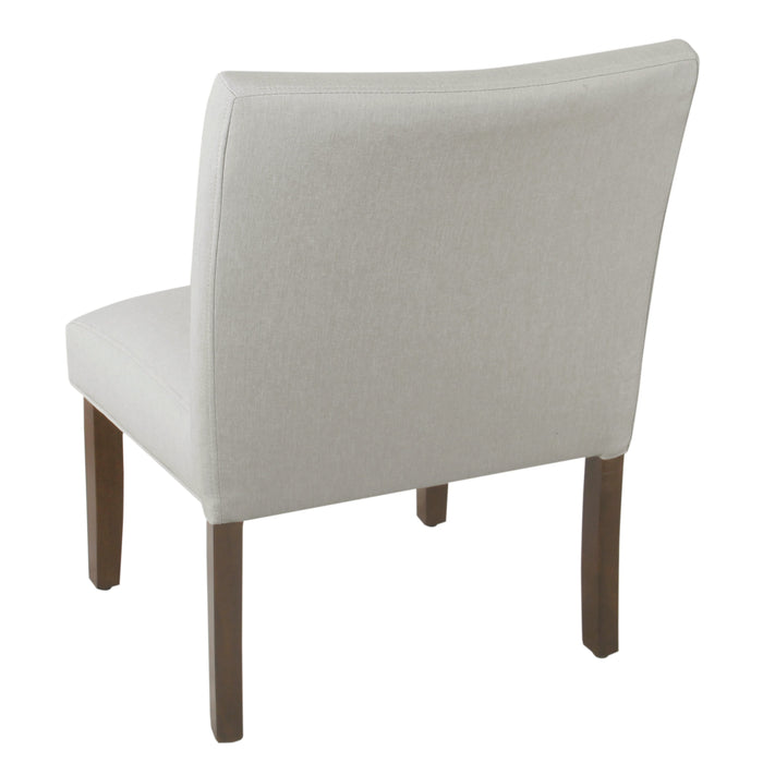 Accent Chair and Pillow - Cream