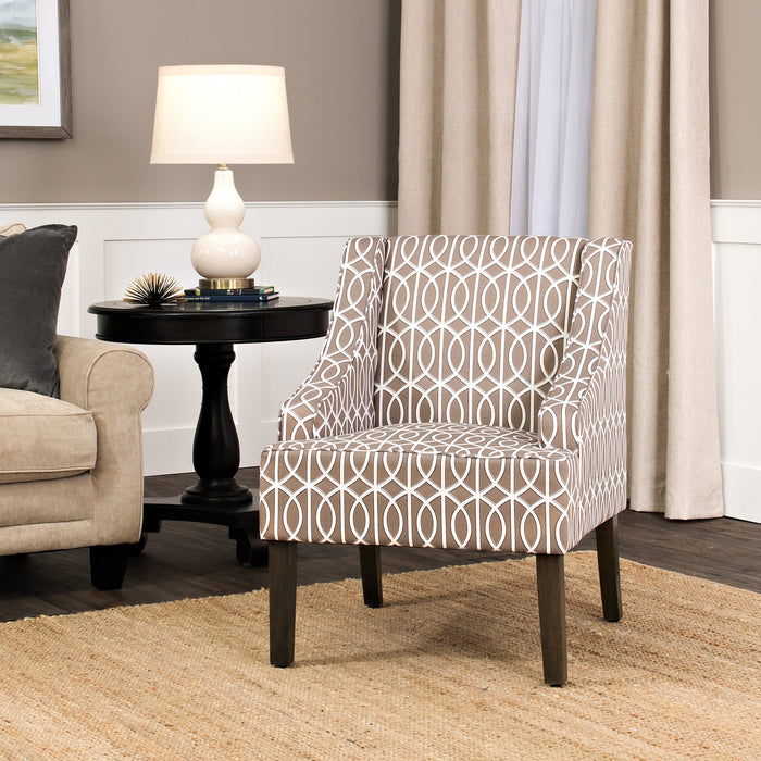 Finley Swoop Arm Accent Chair
