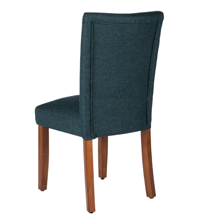 Classic Parsons Dining Chair - Navy Blue - Set of 2