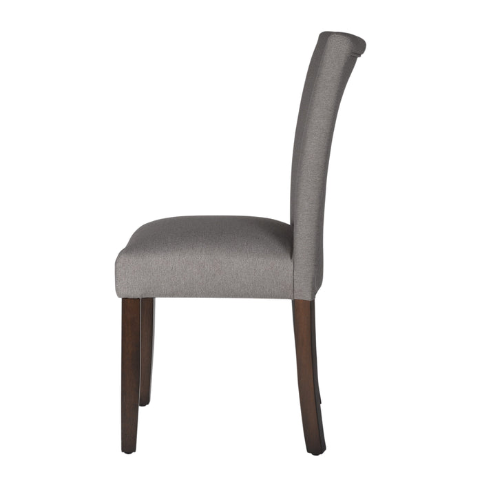 Classic Parsons Dining Chair - Textured Gray Woven (Single Pack)
