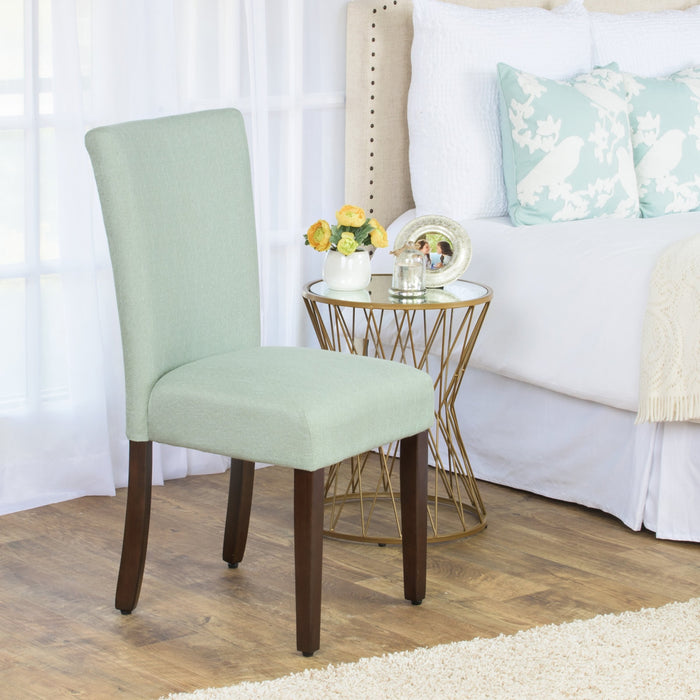 Classic Parsons Dining Chair - Light Green Woven (Single Pack)