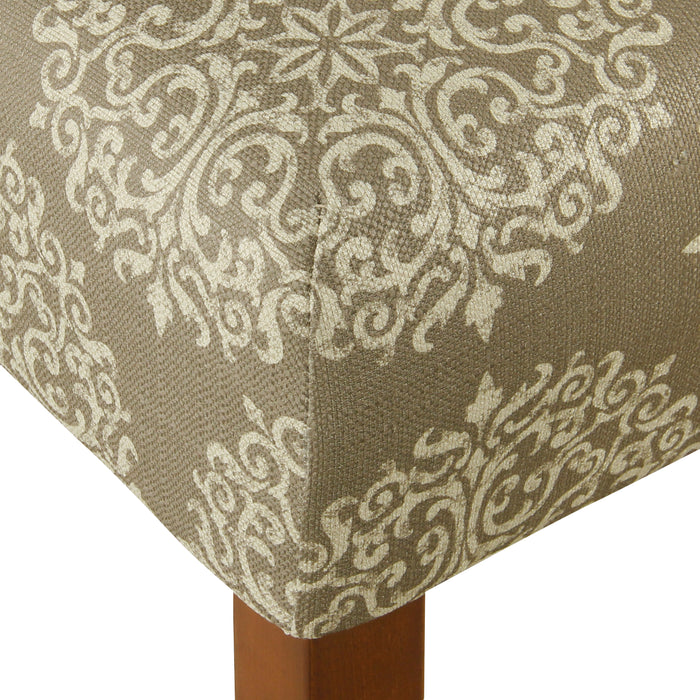 "24"" Classic Counter Stool - Cream Medallion"