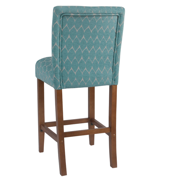 "29"" Classic Barstool - Textured Navy"