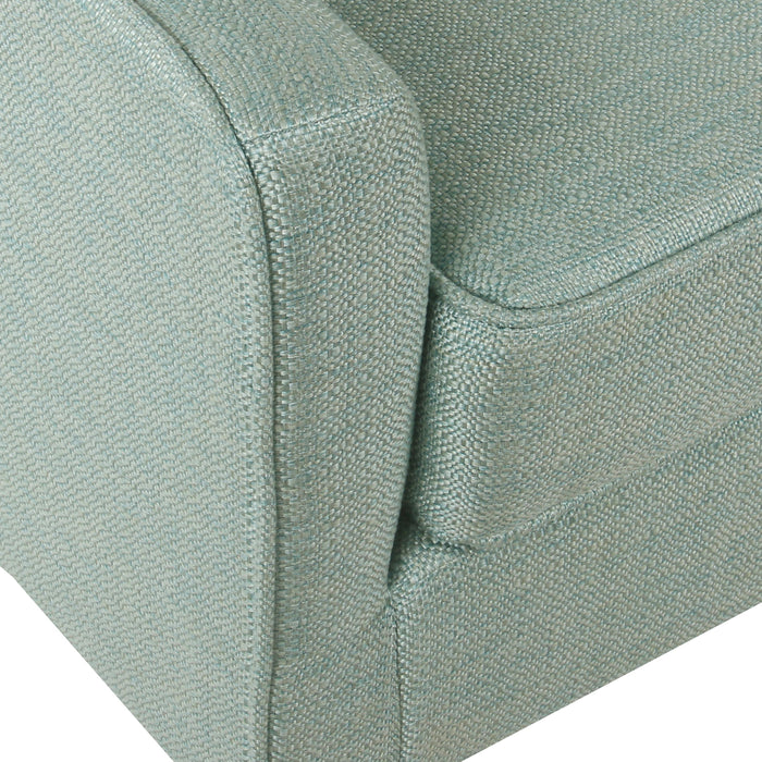Davis Mid-Century Accent Chair - Aqua