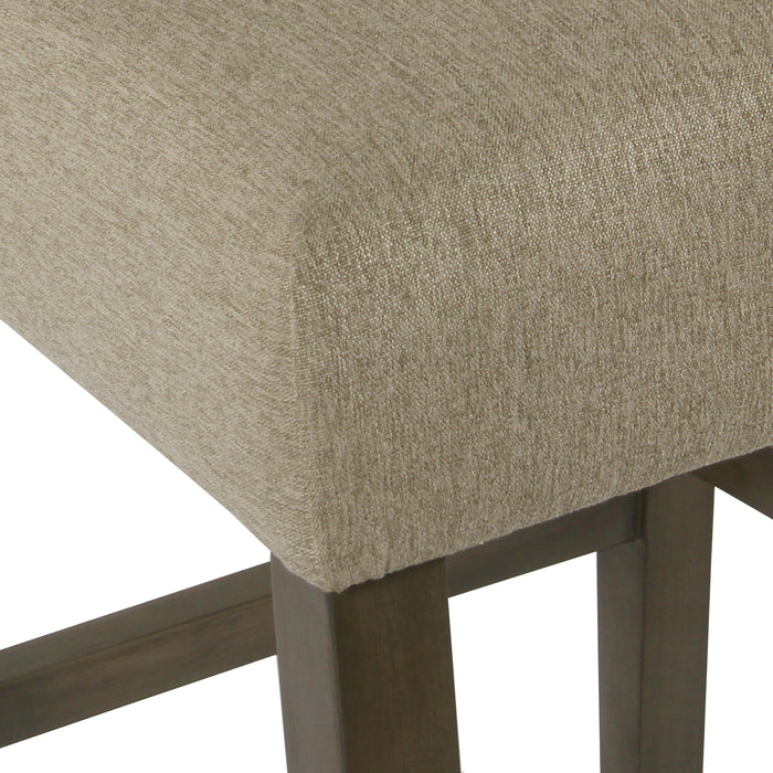 Modern Counter Stool - Tan Woven