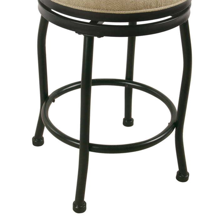 "24"" Swivel Counter Stool - Flax"