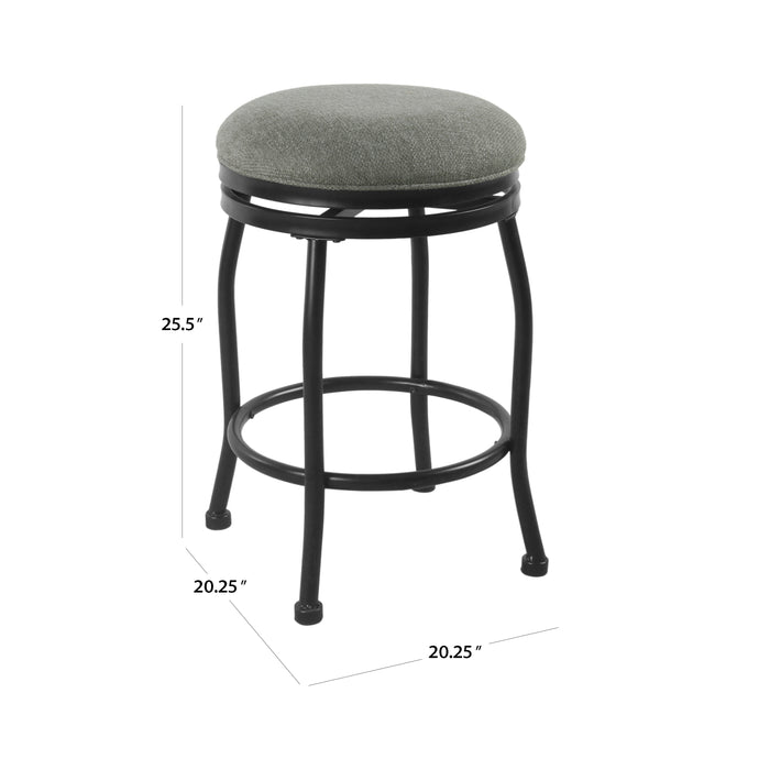 "24"" Swivel Counter Stool - Charcoal"