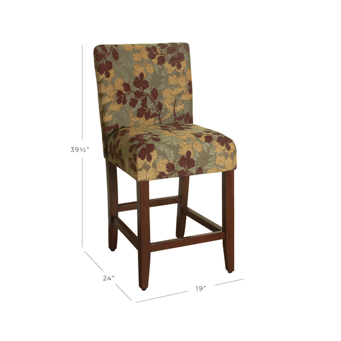 "24"" Classic Counter Stool - Brown Sage Leaf"
