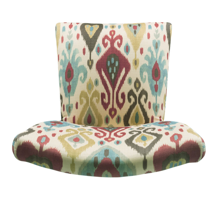 Parsons Deluxe Multi-Colored Ikat Dining Chair - Set of 2