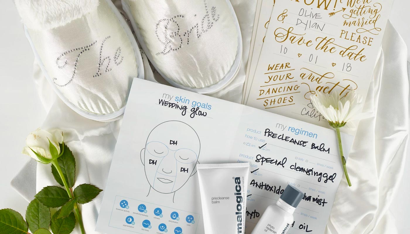 how to get the perfect wedding day skin