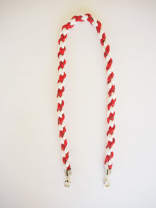 Paracord Twister in Red and White