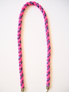 Paracord Twister in Hot Pink and Purple