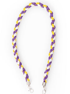 LIMITED EDITION Paracord- Purple, Yellow and White