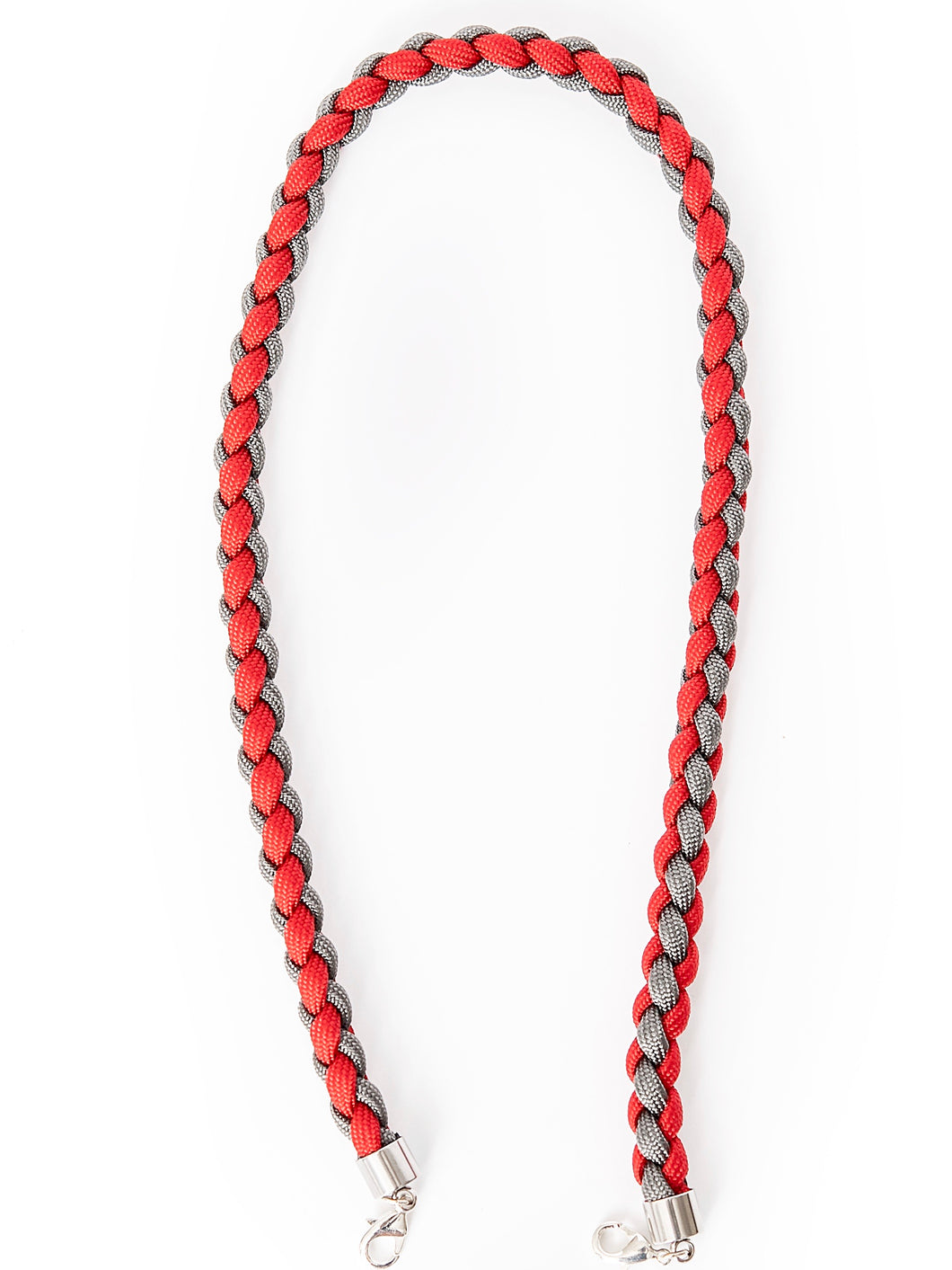 Paracord in Grey/Red