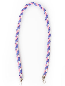 Paracord Twister in Lavender, Pink and White