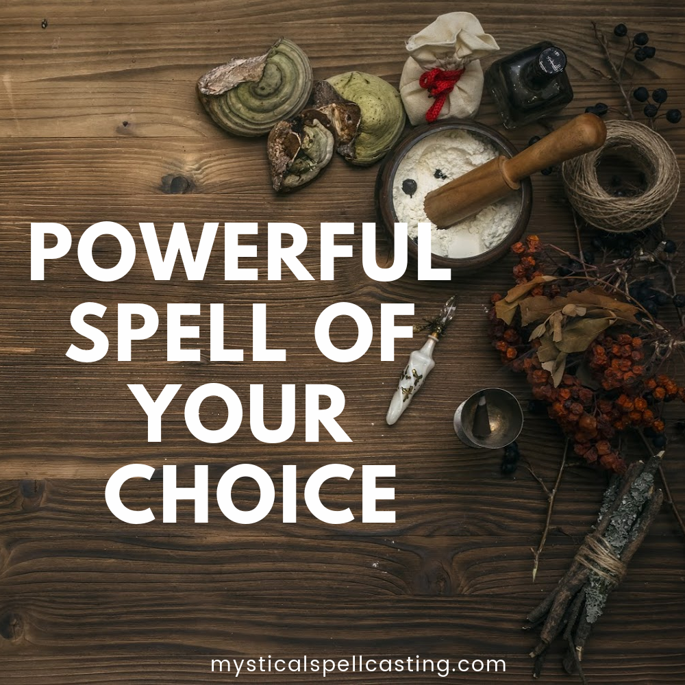 Wish Spells - Road Opener, Honey Jar and Powerful Spell of your Choice