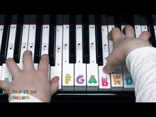 Load and play video in Gallery viewer, Monster Piano Stickers