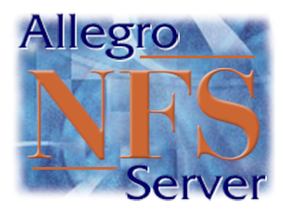 Allegro NFS Server (v6.2) for Windows