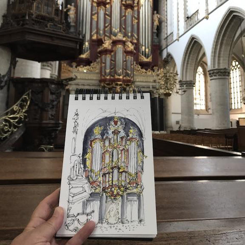 A Surprise at St. Bavo
