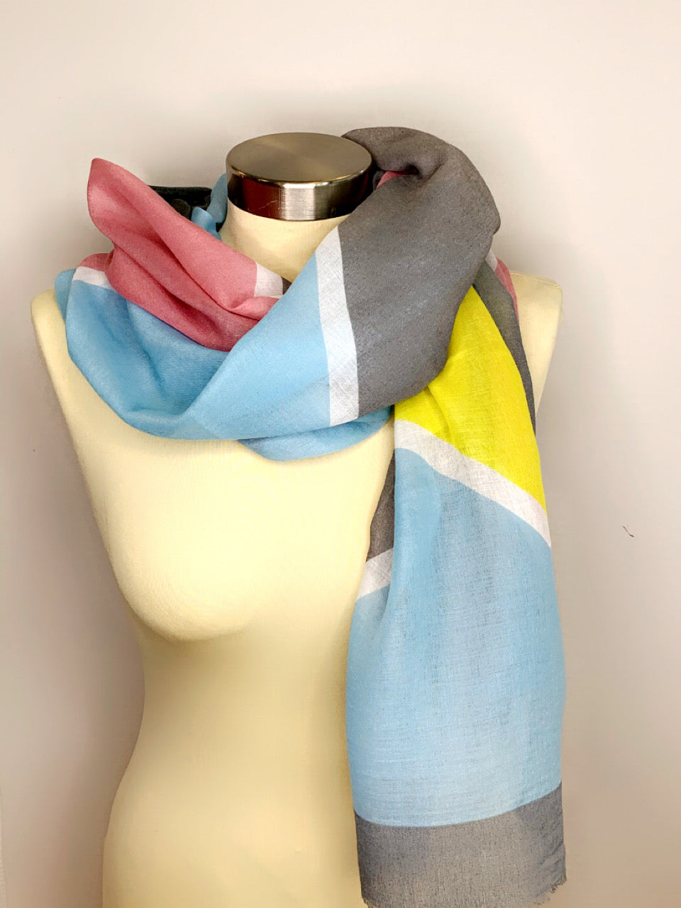 Multicolor Stripe Scarves
