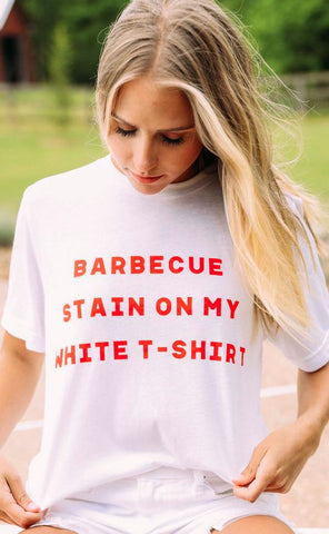 Charlie Southern: BBQ Stain on My White Tee Shirt