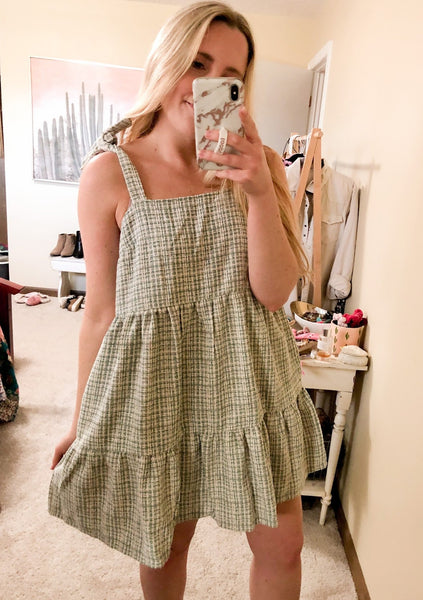 Spring Tweed Dress