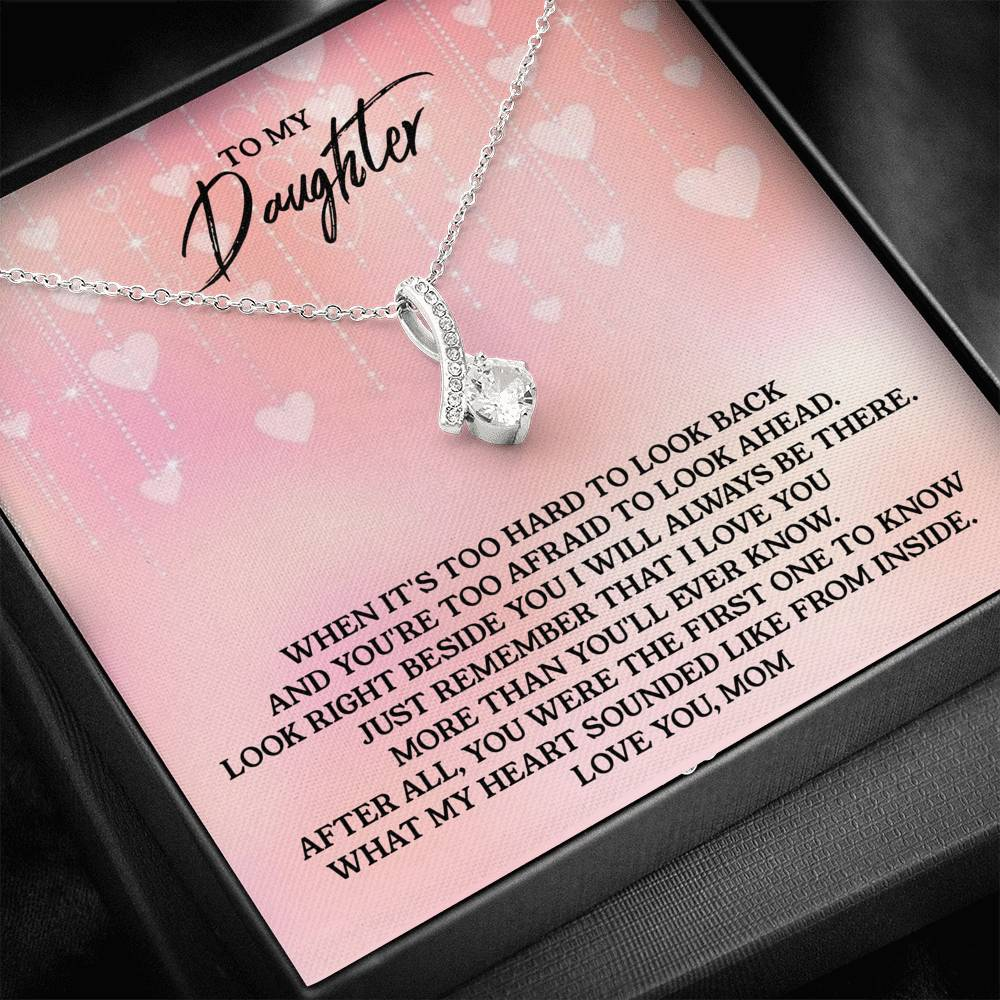 To My Daughter - Love, Mom - Alluring Beauty Necklace(H02)