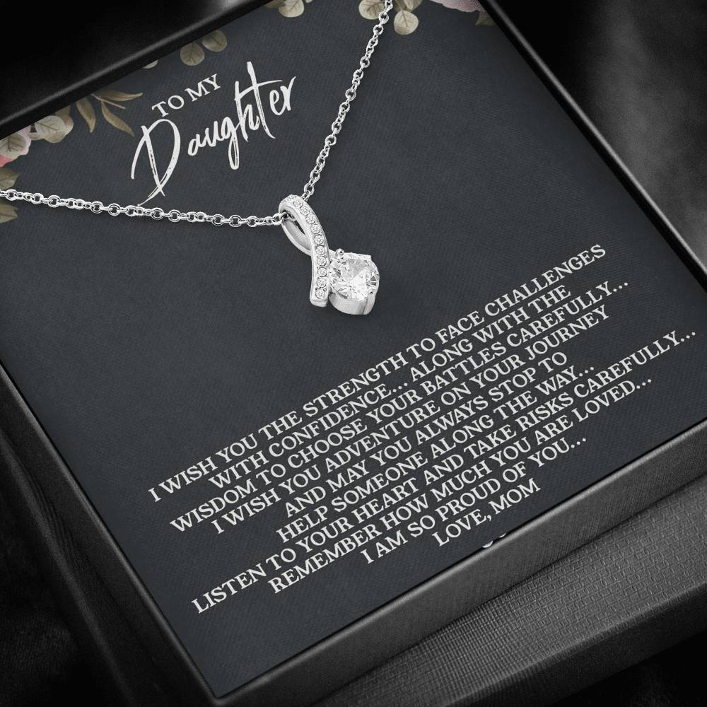 Daughter From Mom Alluring Beauty Necklace